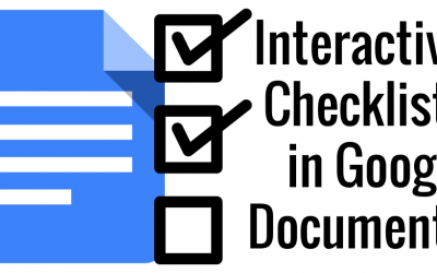 How we do checklists in Google Docs